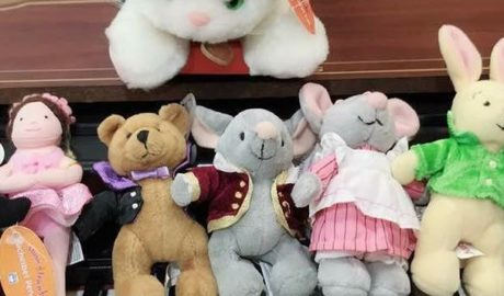 Music for Little Mozarts stuffed animals at Music Matters