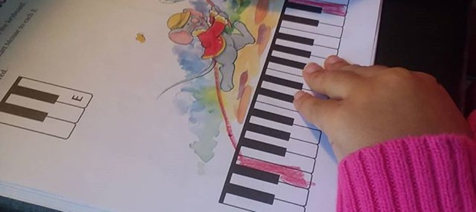 Music for Little Mozarts work book at Music Matters