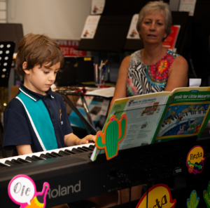 Dylan plays at the Musical Celebration Music Matters