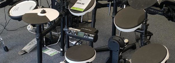 Electronic Drum Set at The School Locker with Music Matters