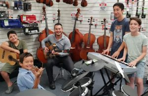 Music Matters Sunshine Coast Kids Gig bands